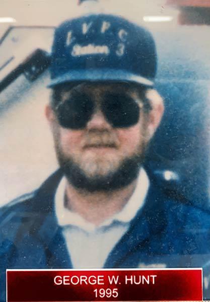 George W. Hunt 1995
