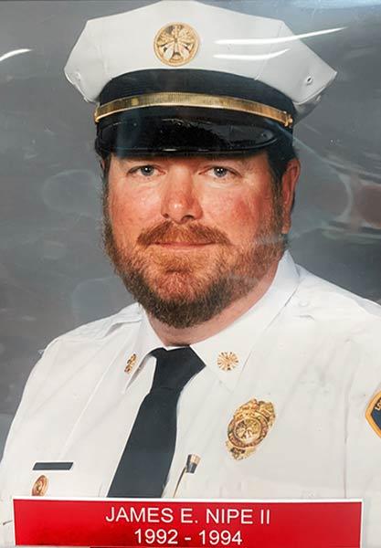 James E. Nipe II 1992-94