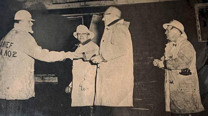 Cunard's Warehouse Fire - Jan 27, 1966, photo 1