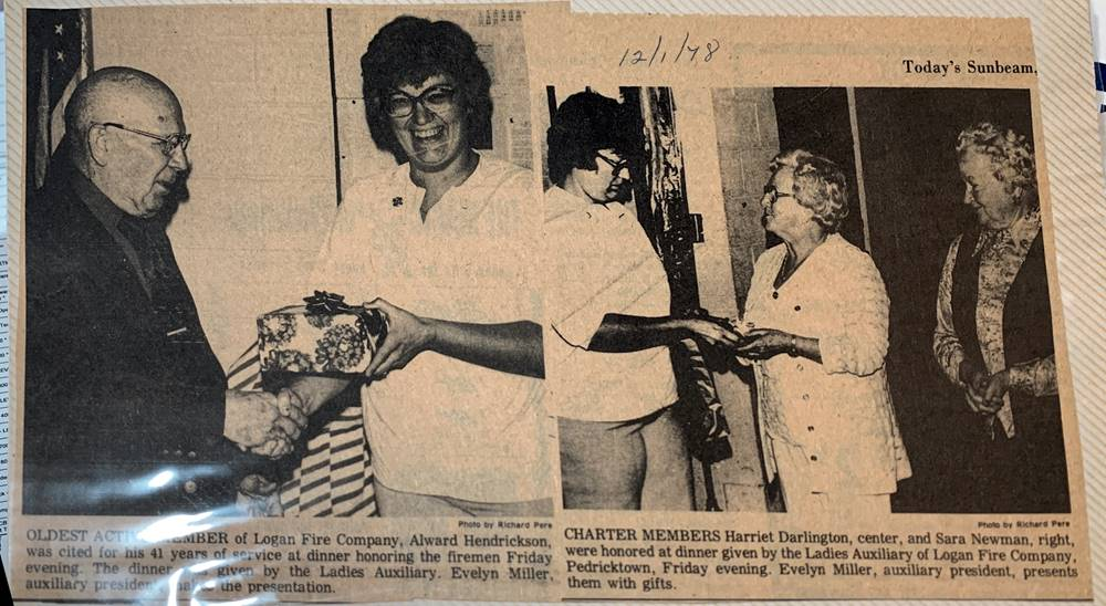 Newspaper article from Dec 1, 1978