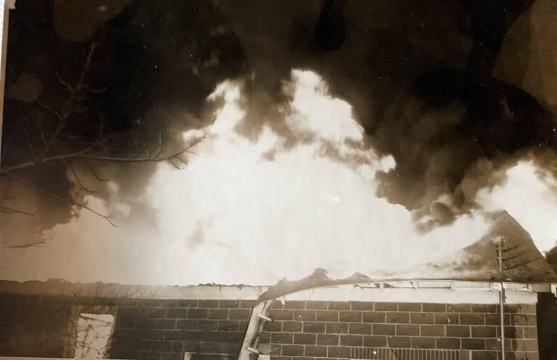 Cunard's Warehouse Fire - Jan 27, 1966, photo 3