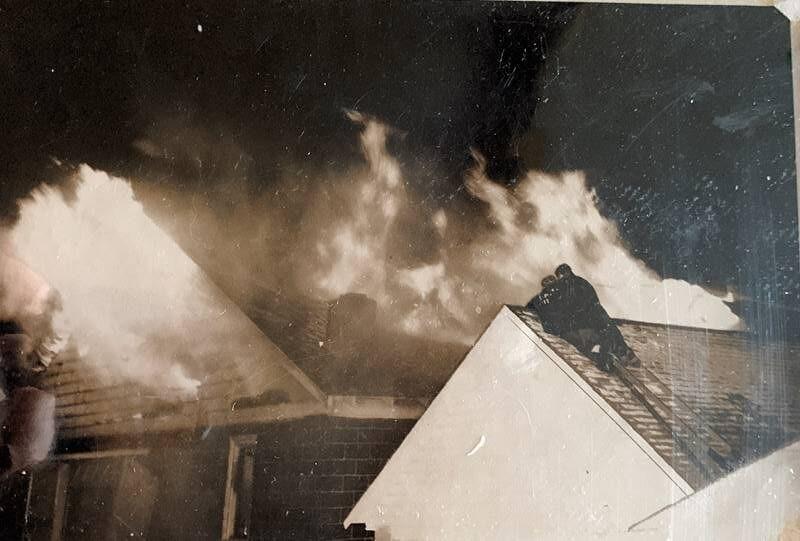 Cunard's Warehouse Fire - Jan 27, 1966, photo 4