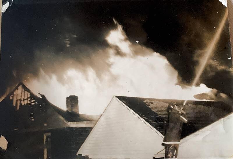 Cunard's Warehouse Fire - Jan 27, 1966, photo 5