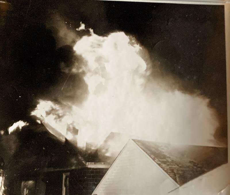 Cunard's Warehouse Fire - Jan 27, 1966, photo 6
