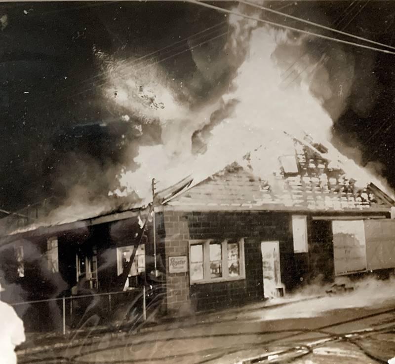 Cunard's Warehouse Fire - Jan 27, 1966, photo 8