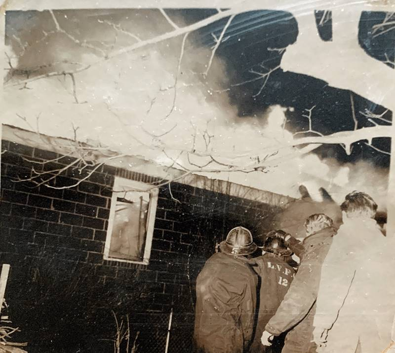 Cunard's Warehouse Fire - Jan 27, 1966, photo 9