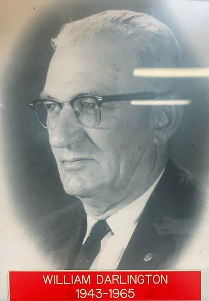 William Darlington 1943-65