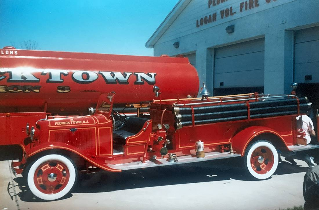 1934 Ford Pump
