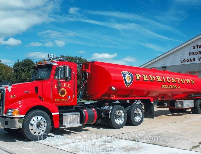 Peter Built truck with 8700 gallon tank