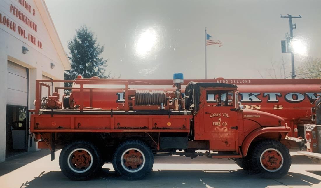 1952 GMC M-211 parked